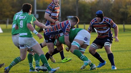 OA's defend against Wharfdale