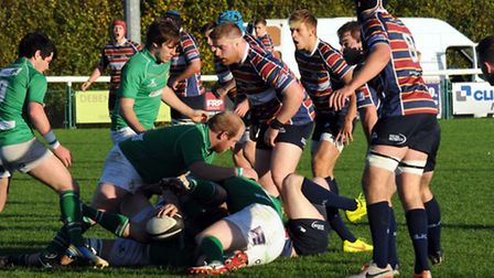 Old Albanian defend against Wharfdale