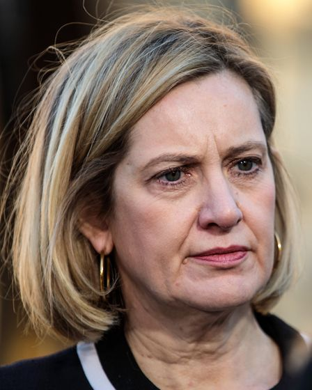 Work and Pensions Secretary Amber Rudd in Westminster. Photo by Jack Taylor/Getty Images