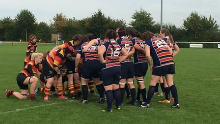 Action from OA Saints' win over Ashford