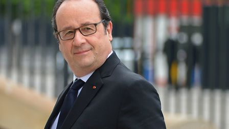 Former French president Francois Hollande (question three) (Alexey Vitvitsky/Sputnik)