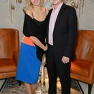 Actress Tamsin Egerton with Henry Parrott