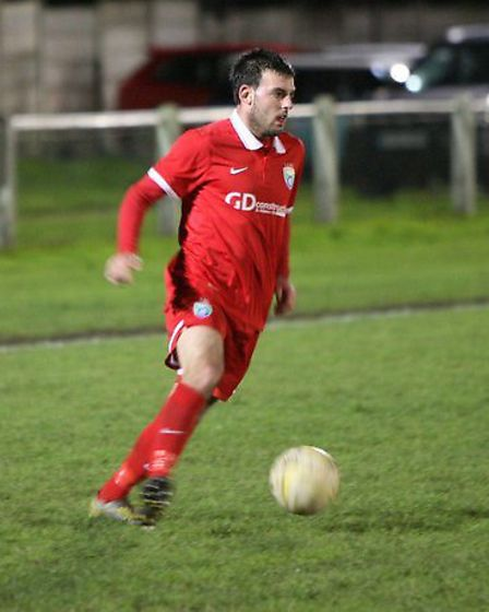 Russell Gallgher also netted two in London Colney's 5-0 win. Picture: James Whittamore