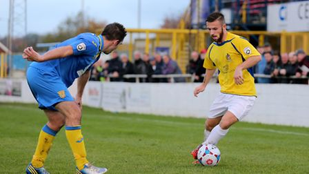 St Albans City are trying to extend Charlie Smith's loan with Luton Town. Picture: Leigh Page