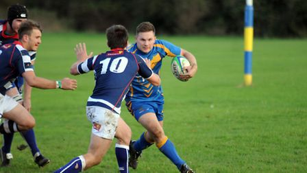 David Coyle, pictured earlier this year, scored four tries for Verulamians against Feltham. Picture: