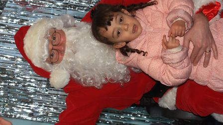 Santa comes to town for Royston Christmas Fair by Clive Porter