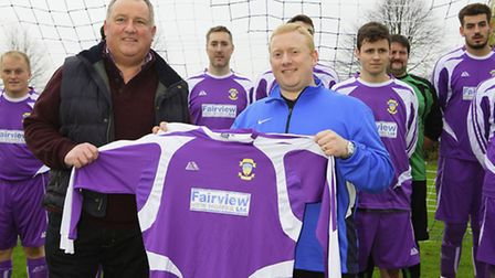 Club is sporting a brand new strip thanks to Fairview