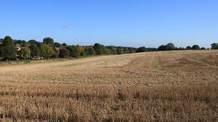 The proposed site of the Oaklands housing development
