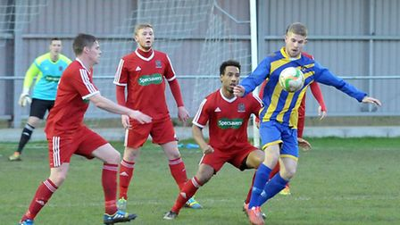 Wisbech football v Huntingdon Town. Picture: Steve Williams.