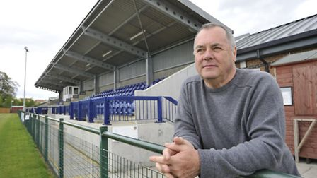 St Neots Town FC Chairman Mike Kearns.