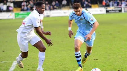 Nathan Green in action. Picture: Bob Walkley