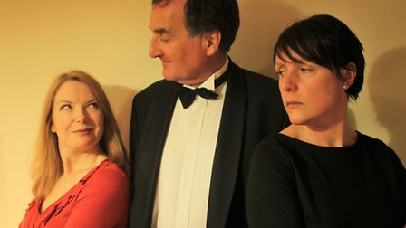 From left, Lynne Livingstone, Martin Woodruff and Lucy Crawford.