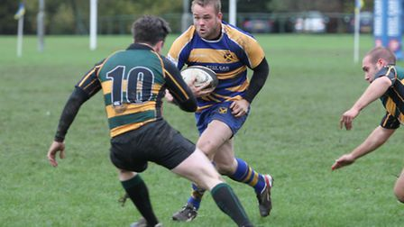 Brenton Lemiere scored two tries for St Albans.