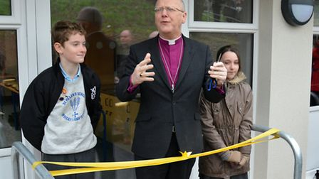 Bishop Allen officially opens the new building