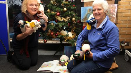 Margaret MacCormack and Steph Worrall campaign flock to the shops