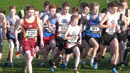 St Columba's College cross country