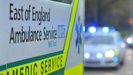 East of Ambulance crews were called to the house in Thriplow, but nothing could be done