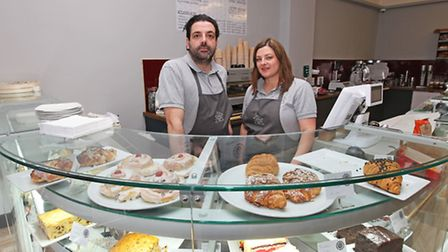 Gels and Kris Picciuto of The Smoke House Deli