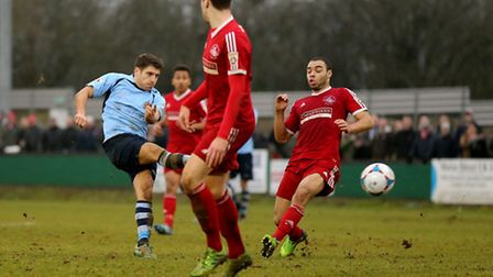 John Kyriacou's last game was on New Year's Day against Hemel Hempstead. Picture: Leigh Page