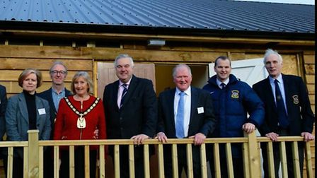 Barkway Pavilion opening. Credit: Premier League and FA Facilities Fund.