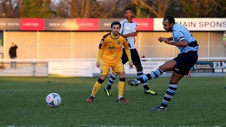 James Comley has missed the last three league games after scoring and limping out of St Albans City'