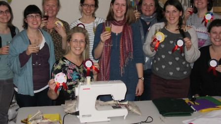 Three cheers to Bassingbourn crafters