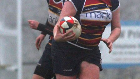 Nicky Cameron was OA Saints' back of the match against Hampstead.