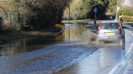 Flooding in St Albans