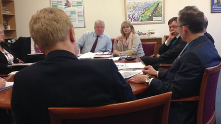 St Albans Anne Main led a delegation of MPs to meet Transport Secretary Patrick McLoughlin