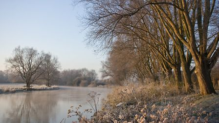 The River Great Ouse on a frosty morning by St Neots Camera Club's Jim Kevern.