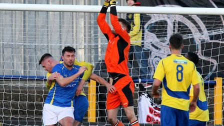 Joe Welch returns to action with a clean sheet. Picture: Leigh Page