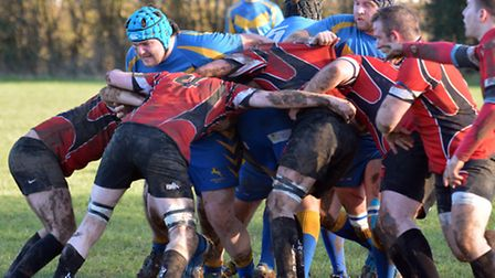 Verulamians hold up a London Welsh attack