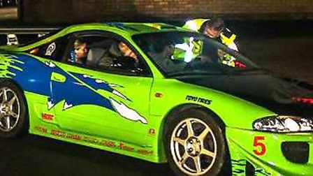 Cars at the Royston Modified Paul Walker tribute rally in November