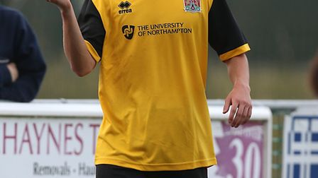 Connor Roberts has signed for St Albans City from Northampton Town. Picture: Pete Norton