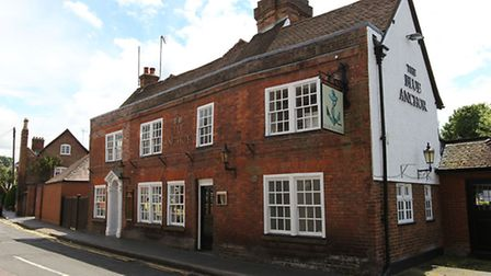 The Blue Anchor on Fishpool Street has closed