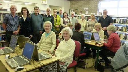 The Wheathampstead Community group host a computer club every Tuesday in the library