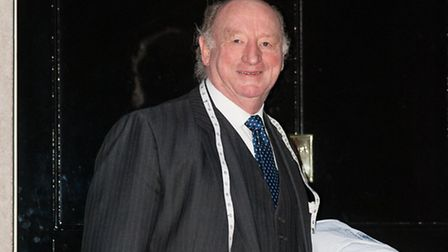 Geoff Golding at 10 Downing Street