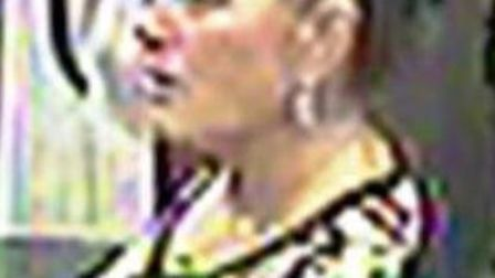 Police would like to speak to this woman in connection with the incident.