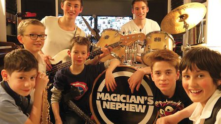 Magician's Nephew Band has been raising funds for Home Start St Albans