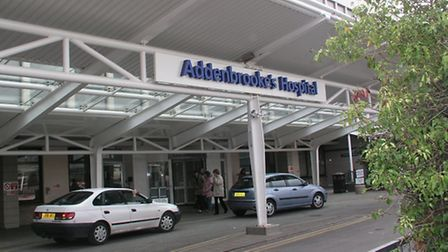 The situation at Addenbrooke's Hospital remains critical although it is no longer considered a 'majo
