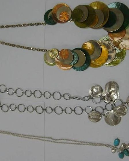 These items of jewellery were stolen from a home in Royston.