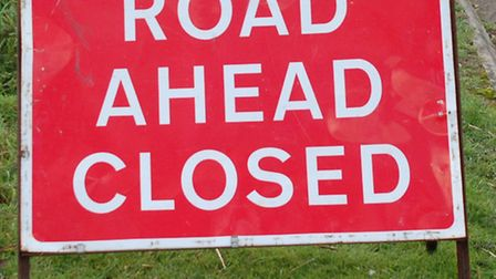 Two men have died in a crash on the A505, which was shut for more than eight hours.