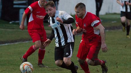 Ben Seymour-Shove in action on Saturday. Picture: Louise Thompson