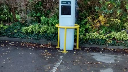The electric charging notice is deemed unclear by some car users