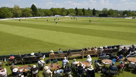 The beautiful ground at Radlett CC. Picture by Sarah Williams