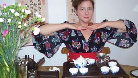 Joanne Johnson will be holding a Chinese tea ceremony.
