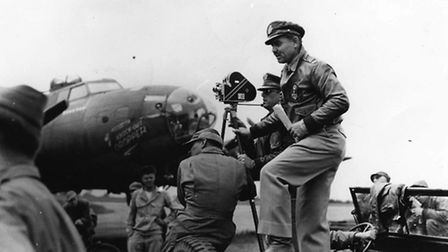 Hollywood actor Clark Gable, served as an aerial gunner and photographer with the 351st Bomb Group.