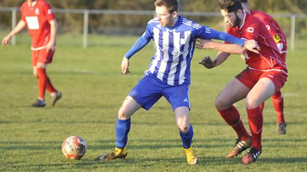 Tom Meechan scored his 40th goal of the year