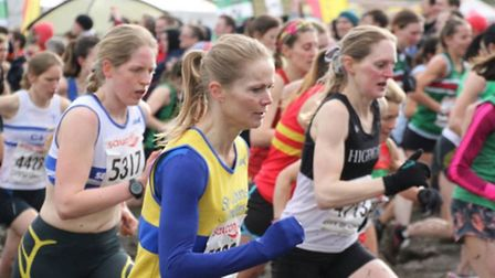 Wendy Walsh came 149th in the women's race at the National Cross Country Championships in Parliament