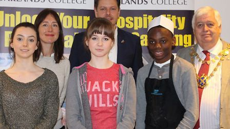 Lauren Telling, Mia Taylor (Young Chef of the Year), Terrence Dobson